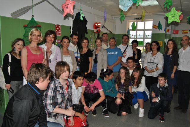 El Colegio n° 4 se estrena como colaborador de un programa Comenius - 1, Foto 1