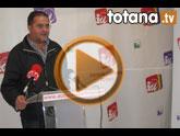 Rueda de prensa IU+LV Totana. Valoración Pleno marzo 2011