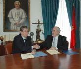 La UCAM firma un convenio con el Ilustre Colegio de Economistas de Murcia