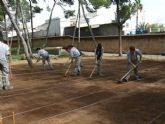 La Escuela Taller El Apeadero crea un huerto ecológico