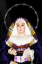 Silencio al paso de Nuestra Señora de Gracia y Esperanza en Cieza