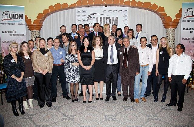 Multitudinaria presentación oficial de Unión Independiente de Mazarrón - 1, Foto 1