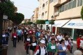 Más de 400 personas participan en la I marcha por la vida de Torre-Pacheco