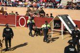 La Unidad Canina de la Policía Local de Totana (K-9) participa en las III jornadas policiales y militares de guías caninos