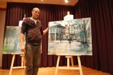 El arte y el color llenan las calles de Alguazas con el IV Concurso de pintura al aire libre