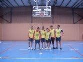 El equipo de baloncesto del IES Prado Mayor jugó los cuarto de final regionales en Murcia