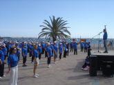 Ciento cincuenta mayores se sumaron a una jornada deportiva del IMAS en Santiago de la Ribera