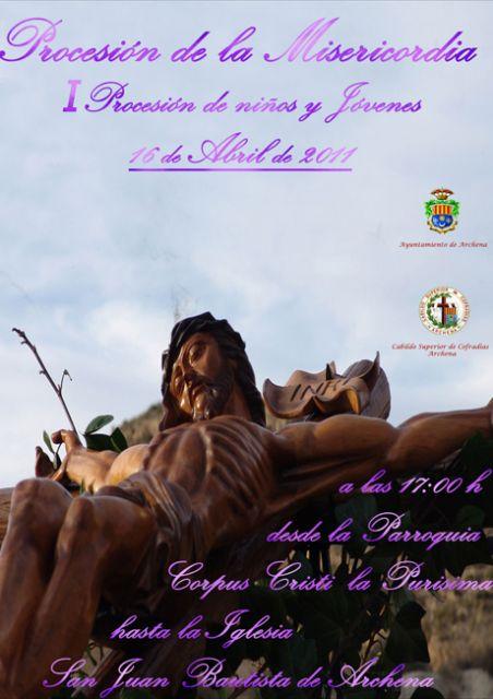La primera procesión infantil de la Semana Santa de Archena saldrá a la calle la tarde del Sábado de Pasión - 1, Foto 1