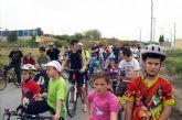 Los torreños disfrutaron de otro 'domingo saludable' en bici por la huerta del municipio