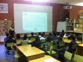Cerca de 1.300 alumnos de los centros educativos de Alguazas participan en la ''Jornada de educación vial''