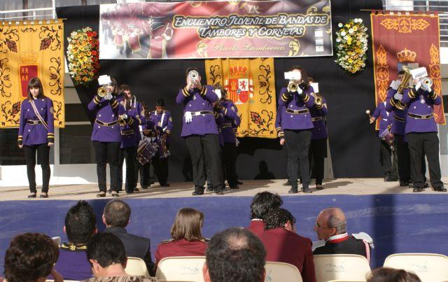 Puerto Lumbreras ha celebrado el IX Encuentro Juvenil de Bandas de Tambores y Cornetas 2011 con la participación de  más de 300 músicos, Foto 4