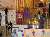 El empresario José García Gómez ha pregonado esta mañana la Semana Santa de Archena