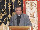 El coadjutor de la Iglesia de Santiago el Mayor de Totana pregonó la Semana Santa 2011 de Las Torres de Cotillas