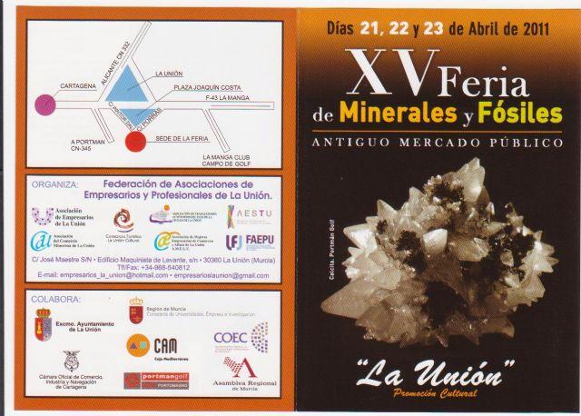 Presentan la XV feria de minerales y fósiles de La Unión - 3, Foto 3