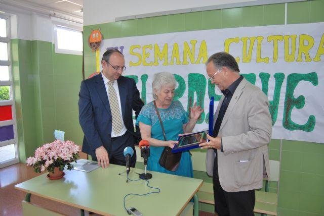 La biznieta de Ricardo y Codorníu visita el colegio que lleva su nombre, Foto 1