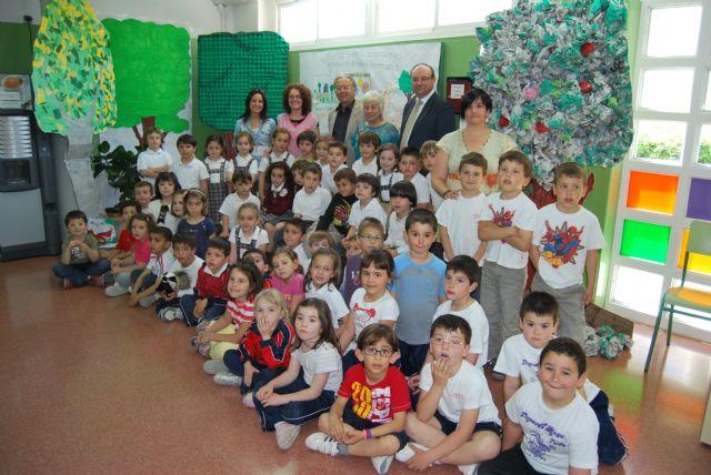 La biznieta de Ricardo y Codorníu visita el colegio que lleva su nombre, Foto 2