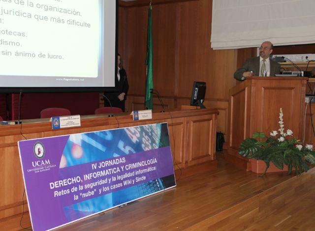 IV Jornadas UCAM de Derecho, Informática y Criminología - 2, Foto 2