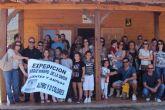 Alymo y D´Colores organizan una visita al parque minero con sus clientes