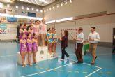 Más de 200 gimnastas participan en el 'I Campeonato Conjunto Liga y Base de Gimnasia Rítmica'