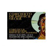 El coro y la banda titular de la Agrupaci�n Musical de Alhama ofrecen conciertos durante esta Semana Santa