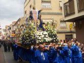 Comienzan los desfiles procesionales en la Semana Santa de Archena