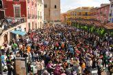 La tamborada infantil marca el inicio de las Fiestas de la Semana Santa en Mula