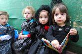 Los alumnos de la Escuela Infantil 'Clara Campoamor' y los del CAI 'Pepita López' conocen la Semana Santa de Totana con procesiones infantiles