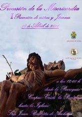 Hoy sábado desfila por primera vez en la Semana Santa de Archena una procesión dedicada exclusivamente a los niños