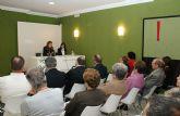 La periodista Carmen Gurruchaga ofreció en Puerto Lumbreras la conferencia 'La información como prioridad profesional para la ciudadanía'