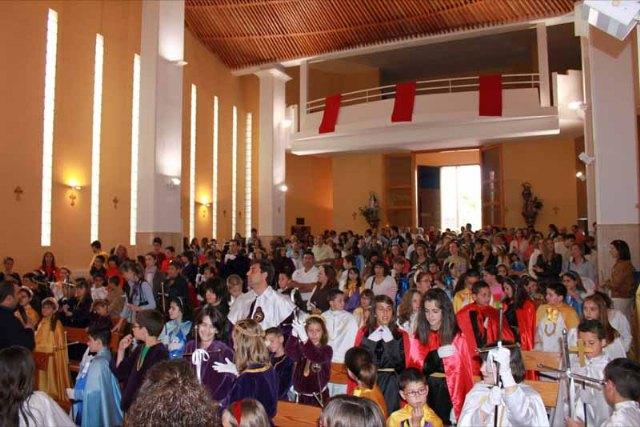 Rotundo éxito de la primera procesion infantil de la Semana Santa de Archena - 2, Foto 2