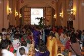 Rotundo éxito de la primera procesion infantil de la Semana Santa de Archena