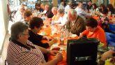 Los socios de la Tercera Edad del Paretón-Cantareros disfrutaron de una comida de convivencia