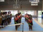 Las alumnas de la Escuela Deportiva Municipal de Gimnasia Rítmica participaron en la Competición Interescuelas de Lorca