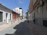 Finalizan las obras de remodelación de la calle Antonio Tárraga de Lo Pagán