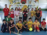 La concejalía de Deportes organizó una jornada de voleibol alevín de Deporte Escolar