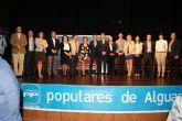 Nueve hombres y siete mujeres, con un promedio de edad de 35 años, componen la candidatura que el Partido Popular de Alguazas presenta a las elecciones municipales del 22 de Mayo