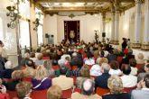 Eduardo Zaplana en el homenaje a los Cartageneros Ausentes