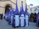 La procesión del Santo Entierro culmina la Semana Santa unionense