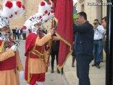 El alcalde de Totana hizo la tradicional entrega de la bandera a Los Armaos
