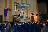 La Virgen de Los Dolores mostró su esplendor durante la Procesión del Dolor y del Santo Entierro 2011