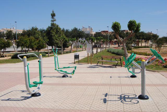 La concejalía de Parques y Jardines coloca cuatro nuevos circuitos biosaludables en parques del municipio que ya cuenta con un total de seis - 1, Foto 1