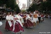 El grupo de coros y danzas 'Ciudad de Totana' participa hoy en el Bando de la Huerta de Murcia