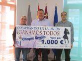 Los comercios unionenses sortearán un cheque regalo de 1.000 euros