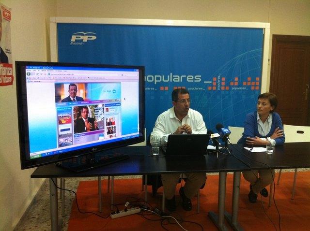El Partido Popular de Mazarrón presenta su nueva web - 1, Foto 1
