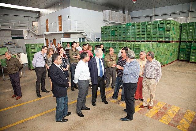 Miguel Arias Cañete visita el municipio de Mazarrón - 1, Foto 1