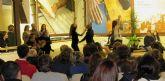 Casi 100 personas participaron en la demostración de Folklore que ofreció el grupo de Coros y Danzas 'Virgen del Rosario' en el Castillo de Nogalte