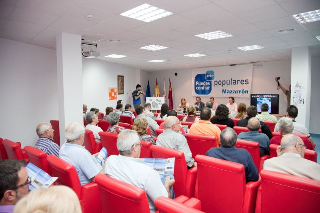 Marín y Blaya presentan ´Mazarrón Logístico´, el despegue industrial del municipio - 1, Foto 1