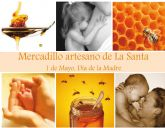 El 'Mercadillo Artesano de La Santa' se celebrará este domingo 1 de mayo en las inmediaciones del Santuario