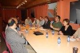 Los candidatos de IU-Verdes Totana se reúnen con AEMCO