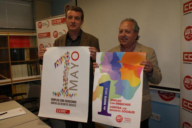 UGT y CCOO convocan a la ciudadanía murciana a participar en la fiesta del trabajo del 1° de mayo - 1, Foto 1